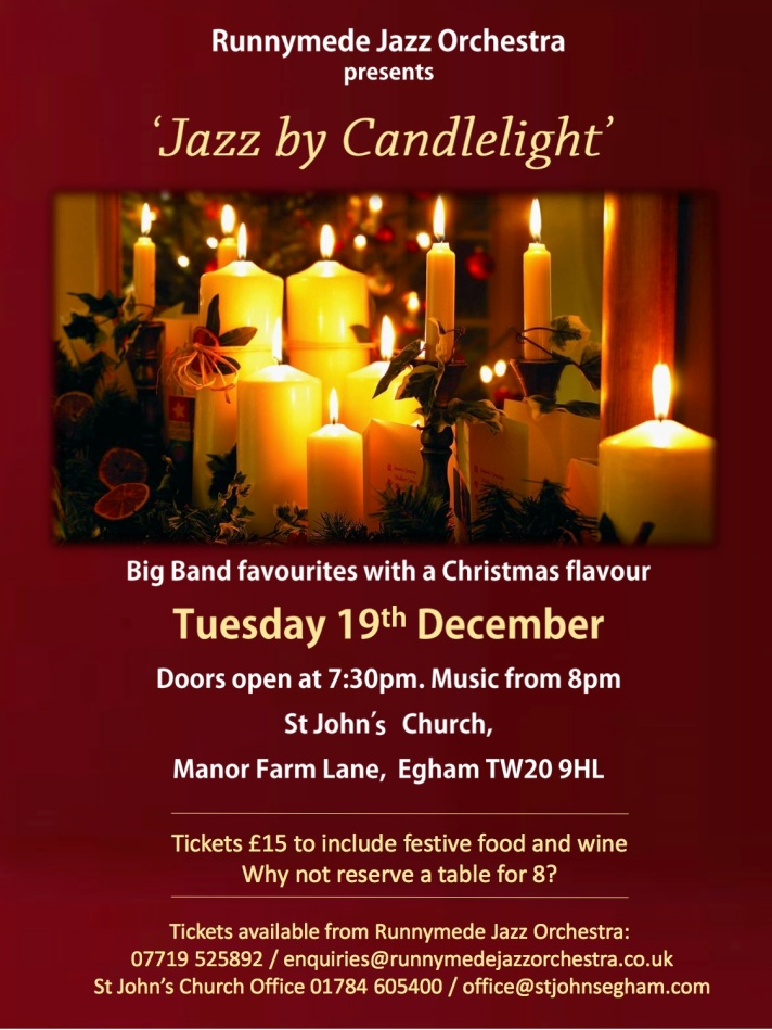 Jazz by Candlelight 2017